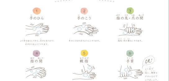 手洗いきもちいいポスター